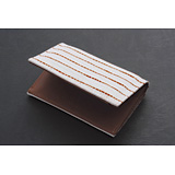 <!--005--><span>09BR-05</span><strong>Shibori-zome Tie-Died Business Card Holder</strong>