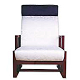 <!--001--><span>06HS-01</span><strong>Nishiki Silk TextileーHigh Back Chairー</strong>