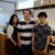 Leather & Silk Akiito 代表  寺井 昭人さん 奥様  寺井 喜久子さん  娘婿  太田 一輝さん